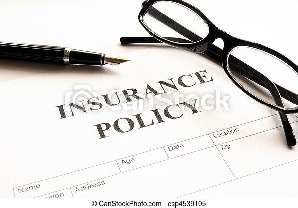 politika, biztosítás - csp4539105