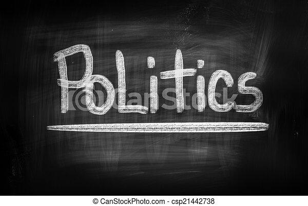 politika, fogalom - csp21442738