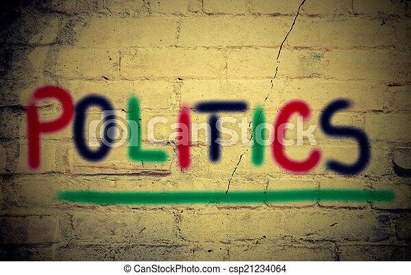politika, fogalom - csp21234064