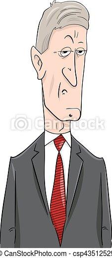 Politiker Karikatur