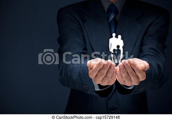 politique, assurance-vie, famille - csp15729148