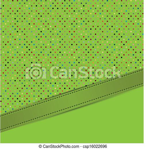 polka dots vector - csp16022696