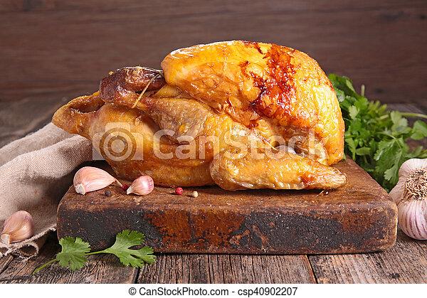 Pollo asado - csp40902207