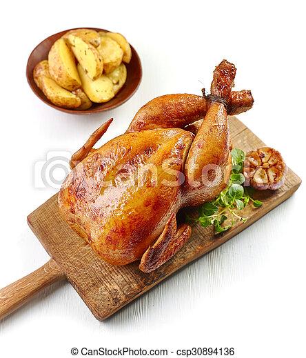 Pollo asado - csp30894136