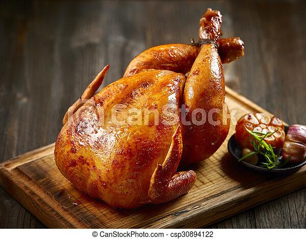 Pollo asado - csp30894122