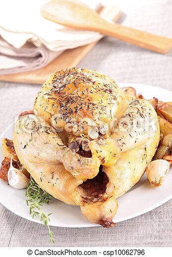 Pollo asado - csp10062796