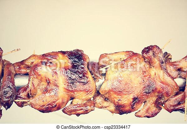 Pollo asado - csp23334417