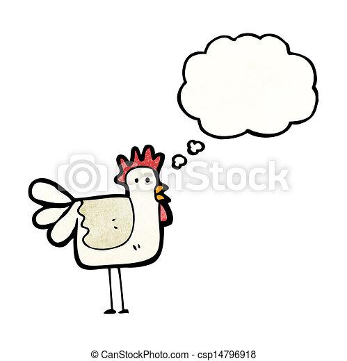 Pollo de dibujos animados - csp14796918