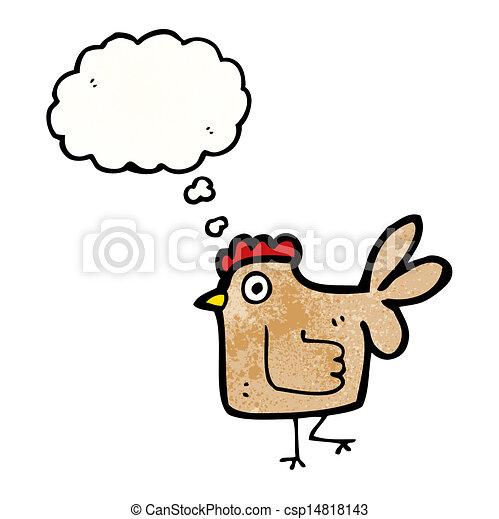 Pollo de dibujos animados - csp14818143