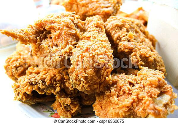 Pollo frito - csp16362675