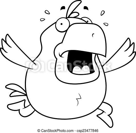 Pánico de pollo - csp23477846