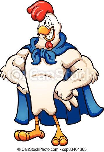 Súper pollo - csp33404365
