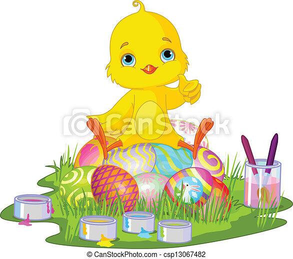 Chica de Pascua - csp13067482