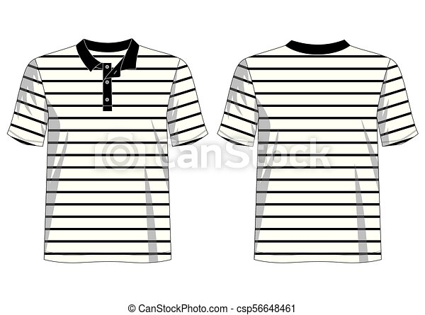 Polo 1 Eps Design Vector T Shirt Template Collection For T Shirt