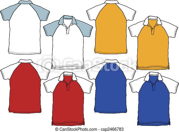 Uniforme deportivo de camisa Boy polo - csp2466783