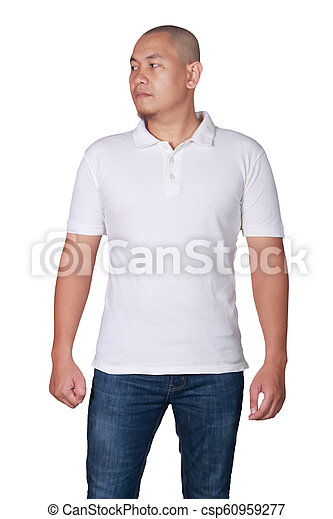 Polo Shirt Template Mock Up White Polo T Shirt Mock Up Front