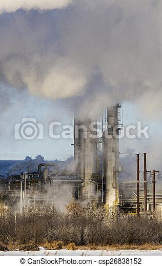 poluição industrial - csp26838152