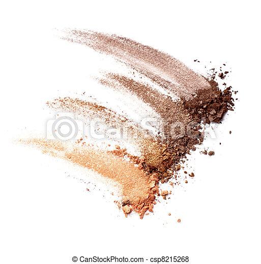 polvere, fare, cosmetica, facciale, su - csp8215268