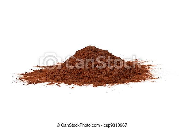 Polvo de cacao aislado - csp9310967