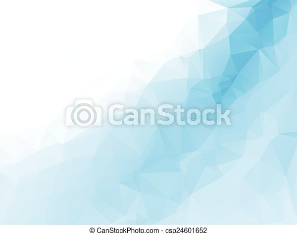 polygonal mosaic background, Vector illustration,  Business design templates - csp24601652