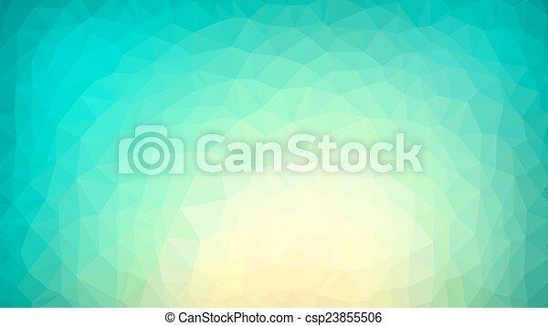 Trasfondo poligonal vibrante - csp23855506