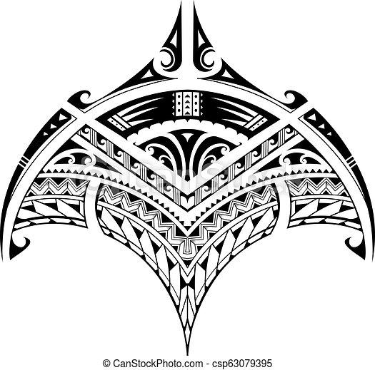 13b800740899b Polynesian ethnic style tattoo for bicep area. Polynesian style ...