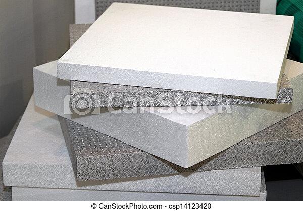 Polystyrene foam - csp14123420