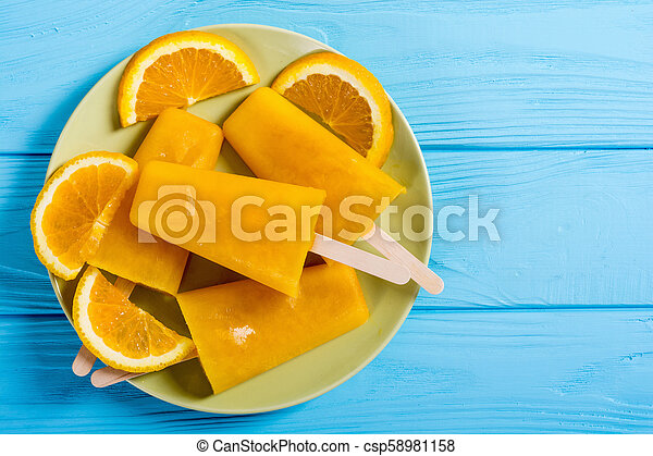 pomarańcza, popsicle, swojski - csp58981158