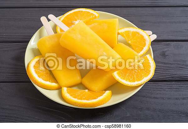 pomarańcza, popsicle, swojski - csp58981160
