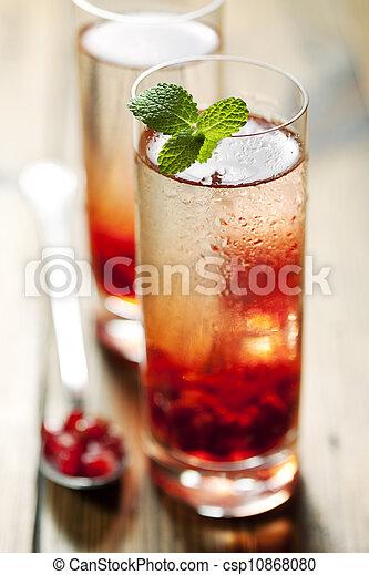 pomegranate cocktail - csp10868080