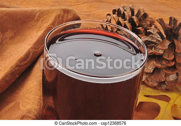 Pomegranate juice - csp12368576