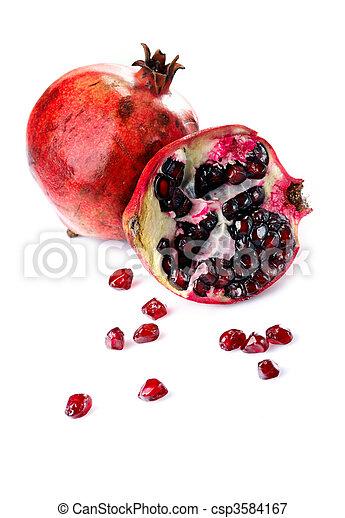 Pomegranate - csp3584167