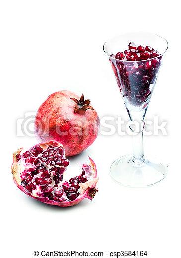 Pomegranate - csp3584164