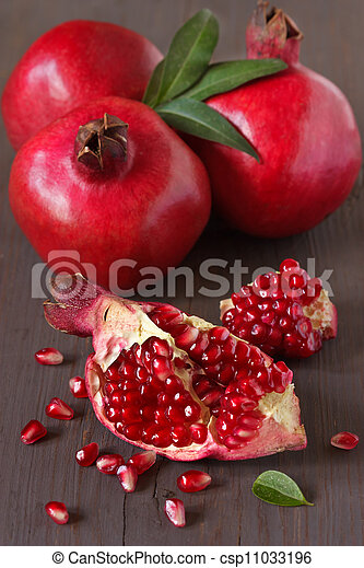 Pomegranate. - csp11033196