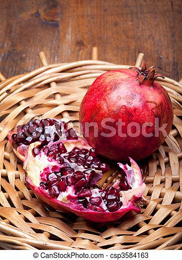 Pomegranate - csp3584163