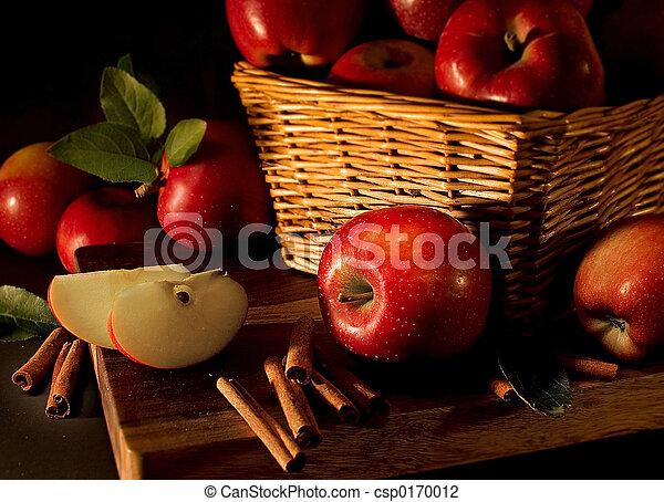 pommes, rouges - csp0170012