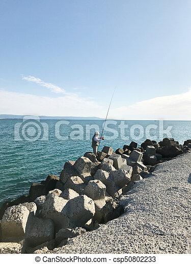 Pomorie, bulgaria - september 18, 2017: summer view of