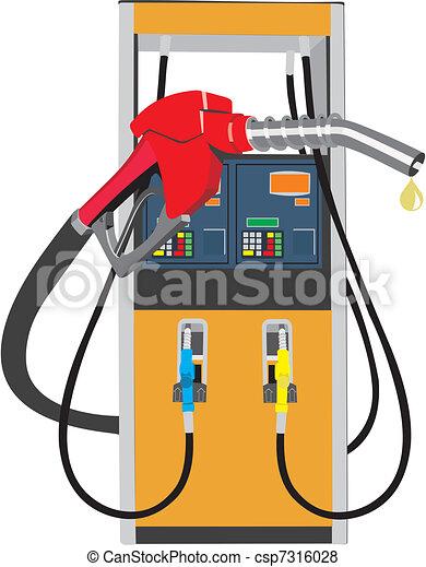 pompa carburante - csp7316028