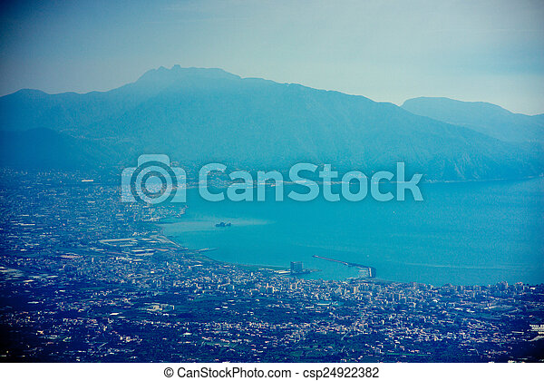 Pompei cityscape - csp24922382