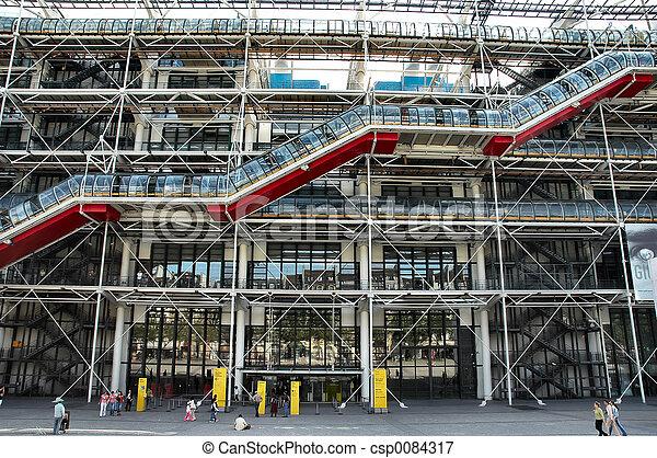 pompidou center - csp0084317