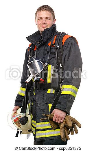 pompier - csp6351375