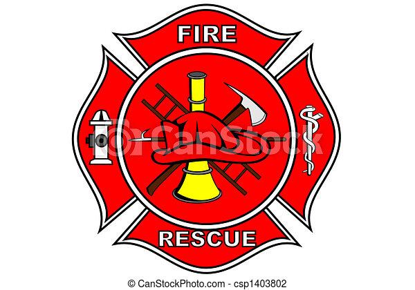 pompier, pièce - csp1403802