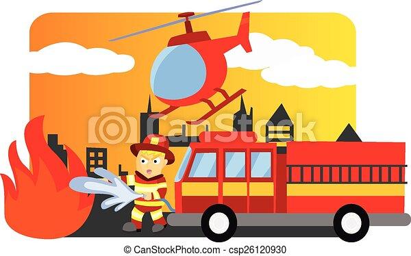 pompier - csp26120930