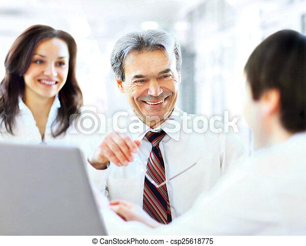 pomyślny, businessteam - csp25618775