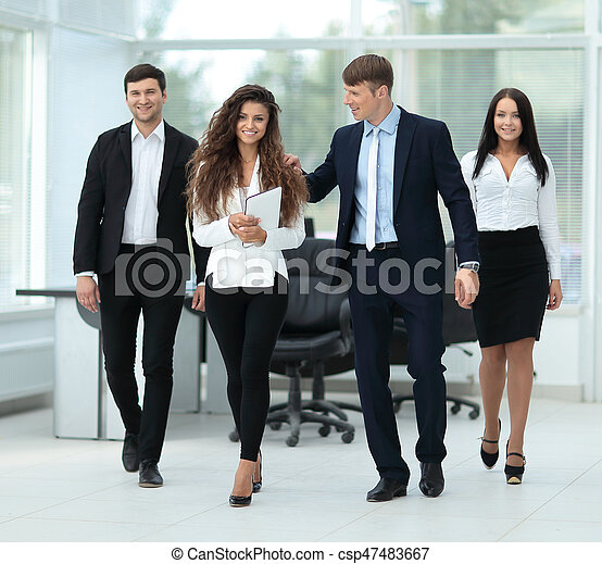 pomyślny, planowanie, praca, businessteam - csp47483667