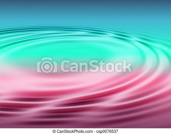 Pond with ripples - csp0076537