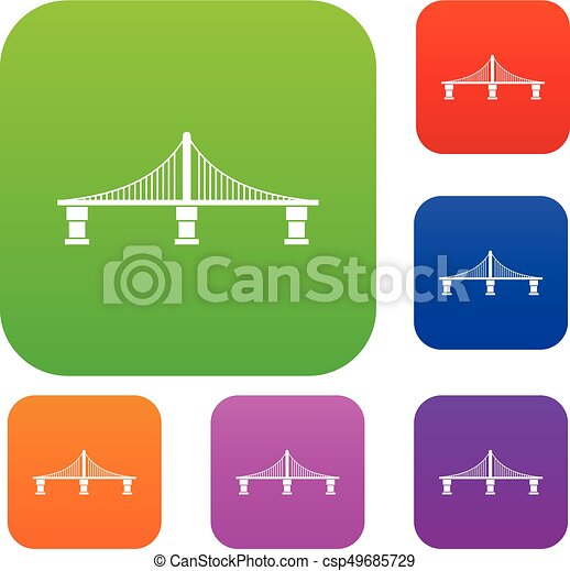 pont, ensemble, collection - csp49685729