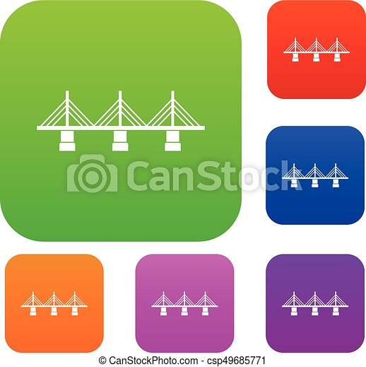 pont, ensemble, collection - csp49685771
