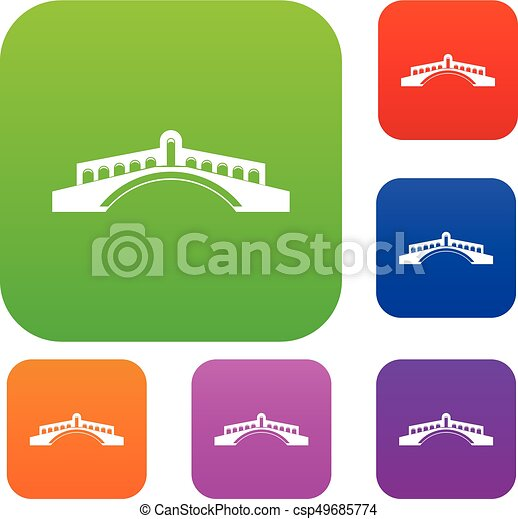 pont, ensemble, collection - csp49685774