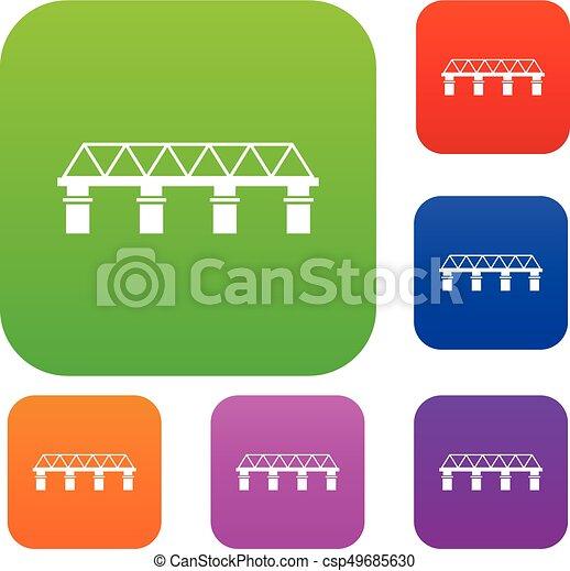 pont, ensemble, collection - csp49685630